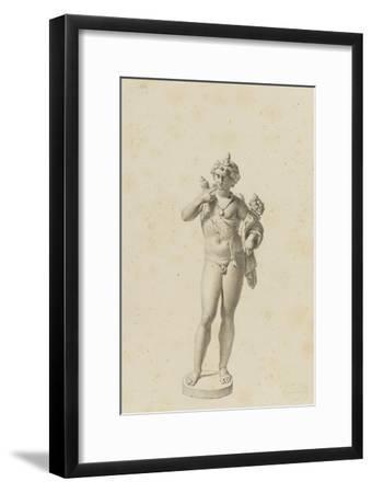 Bacchus jeune-Jean-Baptiste Joseph Wicar-Framed Giclee Print