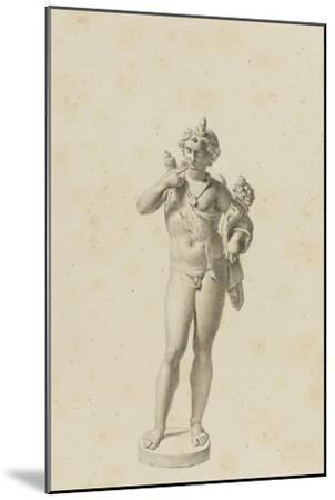 Bacchus jeune-Jean-Baptiste Joseph Wicar-Mounted Giclee Print