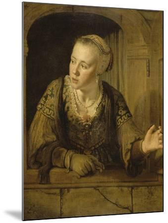 Jeune fille à la fenêtre-Jan Victors-Mounted Giclee Print