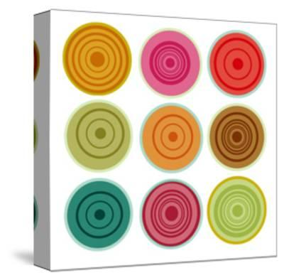 Loli pops I-Ricki Mountain-Stretched Canvas Print