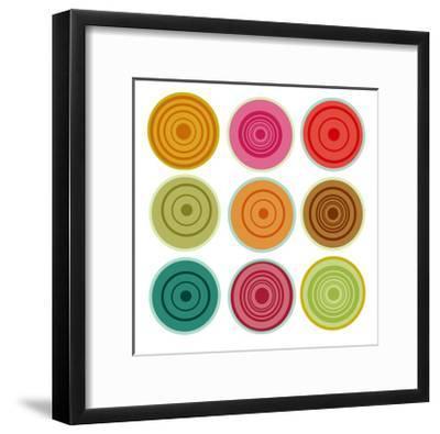 Loli pops I-Ricki Mountain-Framed Giclee Print