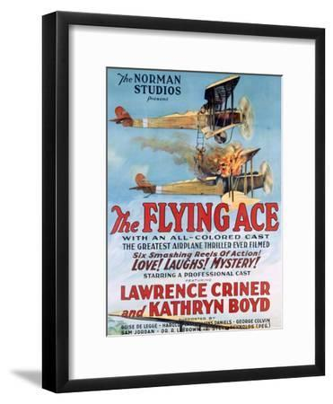 The Flying Ace Movie Poster--Framed Giclee Print