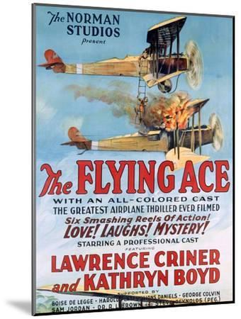 The Flying Ace Movie Poster--Mounted Giclee Print