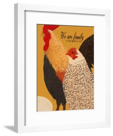 Family-We Protect What We Love-Lisa Weedn-Framed Giclee Print