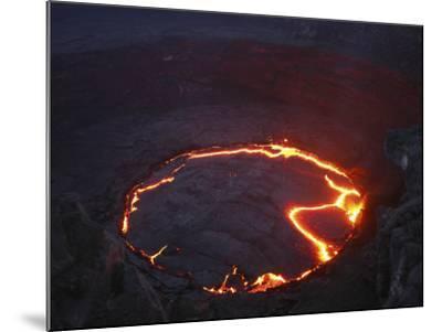 Erta Ale Lava Lake, Danakil Depression, Ethiopia--Mounted Photographic Print