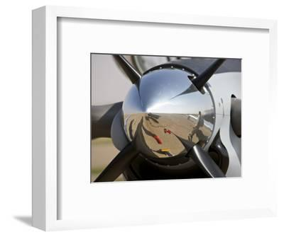 Close-Up View of the Propeller of an Iraqi Air Force T-6 Texan Trainer Aircraft--Framed Photographic Print