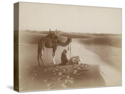 Image of: Camel Ride Desert Travelers Bow In Praise To Allahlehnert Landrockstretched Canvas Print Artcom Desert Travelers Bow In Praise To Allah Photographic Print By