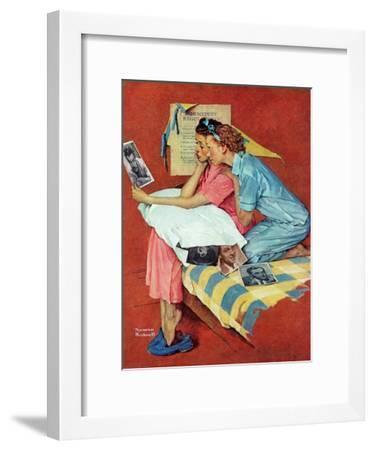"""Movie Star"", February 19,1938-Norman Rockwell-Framed Giclee Print"