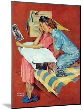 """""""Movie Star"""", February 19,1938-Norman Rockwell-Mounted Giclee Print"""