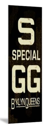 S Special Weathered Sign--Mounted Art Print