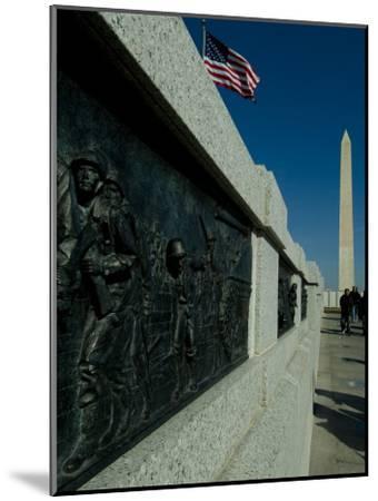 World War II Memorial-Todd Gipstein-Mounted Photographic Print