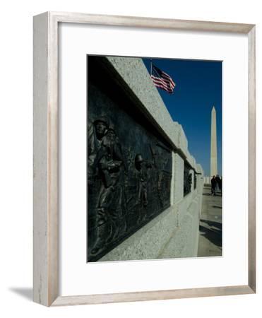 World War II Memorial-Todd Gipstein-Framed Photographic Print