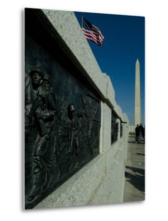 World War II Memorial-Todd Gipstein-Metal Print
