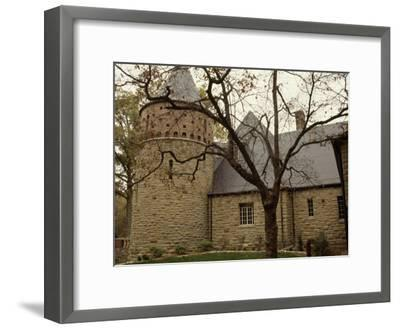 A Stone Building on the Ground of Audubon State Park-Raymond Gehman-Framed Photographic Print