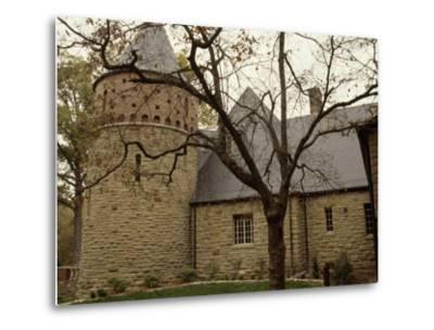 A Stone Building on the Ground of Audubon State Park-Raymond Gehman-Metal Print