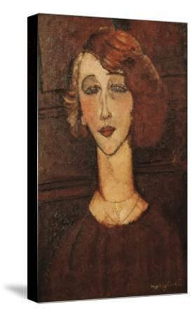 Renée-Amedeo Modigliani-Stretched Canvas Print