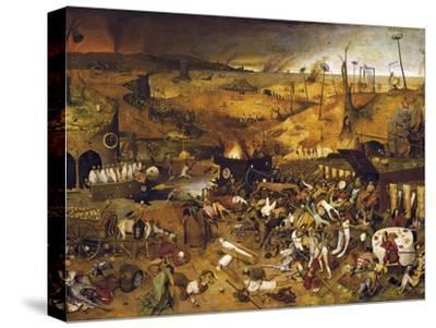 The Triumph of Death-Pieter Bruegel the Elder-Stretched Canvas Print