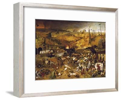 The Triumph of Death-Pieter Bruegel the Elder-Framed Art Print