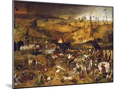 The Triumph of Death-Pieter Bruegel the Elder-Mounted Art Print