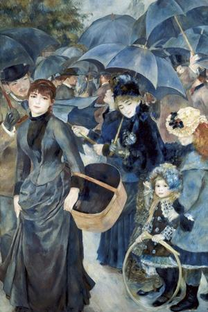 The Umbrellas-Pierre-Auguste Renoir-Stretched Canvas Print