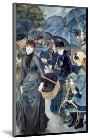 The Umbrellas-Pierre-Auguste Renoir-Mounted Premium Giclee Print