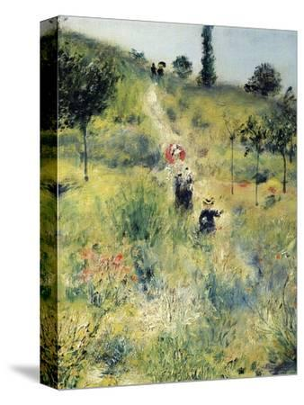 The Path Through the Long Grass-Pierre-Auguste Renoir-Stretched Canvas Print