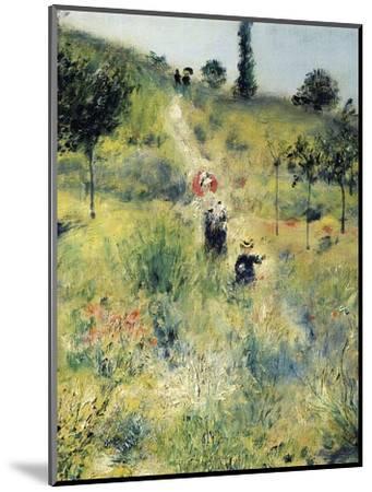The Path Through the Long Grass-Pierre-Auguste Renoir-Mounted Premium Giclee Print