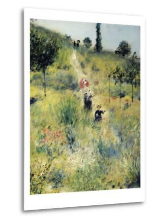 The Path Through the Long Grass-Pierre-Auguste Renoir-Metal Print