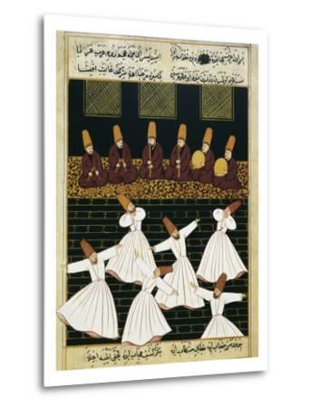 Whirling Dervishes (16th C)--Metal Print