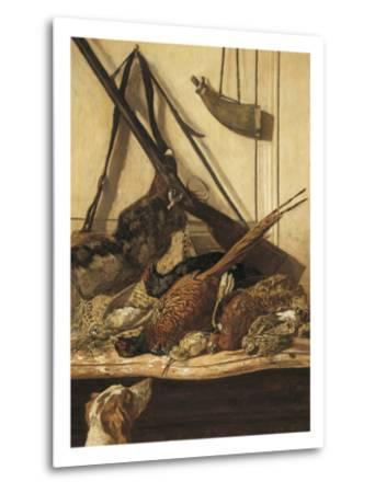 Hunting Trophies-Claude Monet-Metal Print