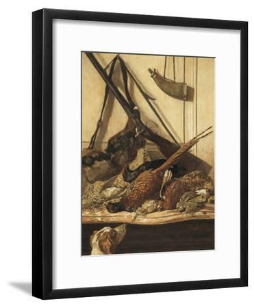 Hunting Trophies-Claude Monet-Framed Art Print