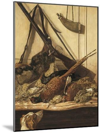 Hunting Trophies-Claude Monet-Mounted Art Print