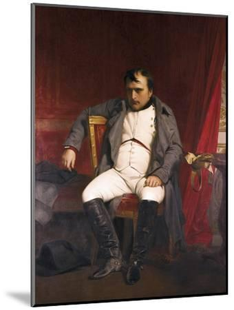 Napoleon after His Abdication-Hippolyte Delaroche-Mounted Art Print