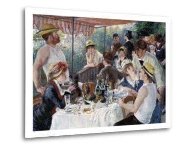 Luncheon of the Boating Party-Pierre-Auguste Renoir-Metal Print