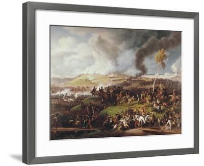 Battle of the Moskova-Louis Lejeune-Framed Art Print