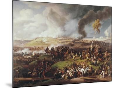 Battle of the Moskova-Louis Lejeune-Mounted Art Print