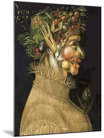 Summer-Giuseppe Arcimboldo-Mounted Art Print