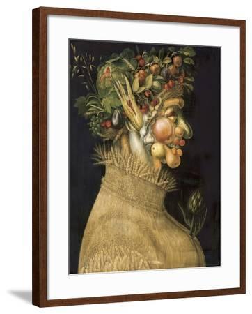 Summer-Giuseppe Arcimboldo-Framed Art Print