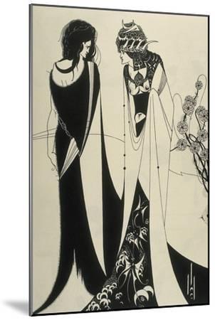 Salome-Aubrey Beardsley-Mounted Art Print