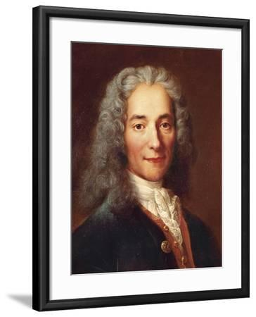 Voltaire-Catherine Lusurier-Framed Art Print