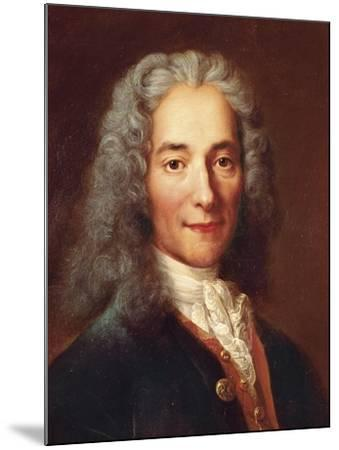 Voltaire-Catherine Lusurier-Mounted Art Print