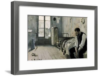 My Room in Paris-Santiago Rusinol-Framed Art Print