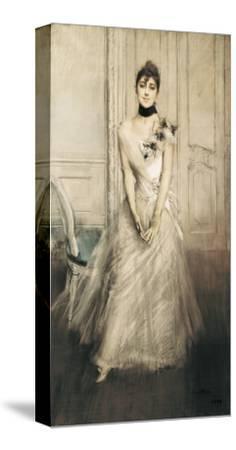 Portrait of Emiliana Concha De Ossa-Giovanni Boldini-Stretched Canvas Print