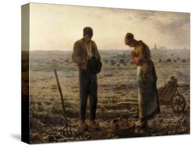 The Angelus (L'Angélus)-Jean-Fran?ois Millet-Stretched Canvas Print