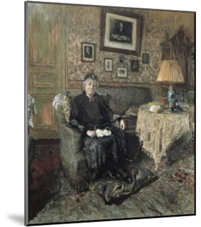 Madame Adrien Bénard-Edouard Vuillard-Mounted Art Print