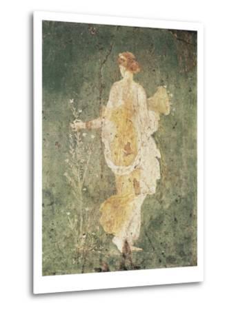 Flora, Goddess of Spring--Metal Print