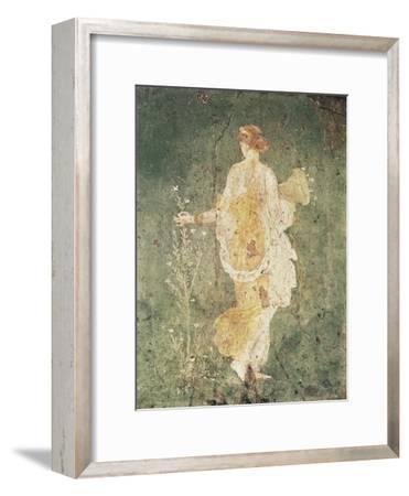 Flora, Goddess of Spring--Framed Art Print