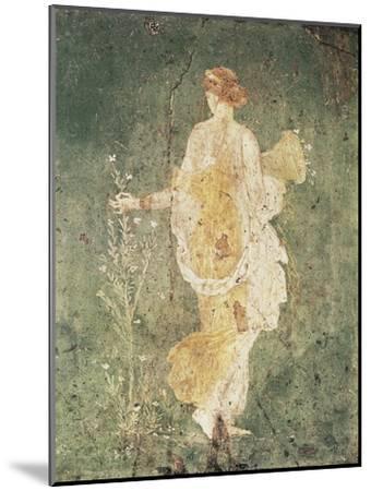 Flora, Goddess of Spring--Mounted Art Print