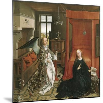 The Annunciation-Rogier van der Weyden-Mounted Art Print