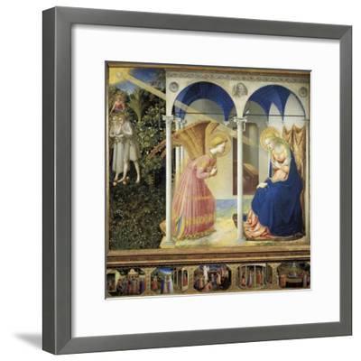 The Annunciation-Fra Angelico-Framed Art Print